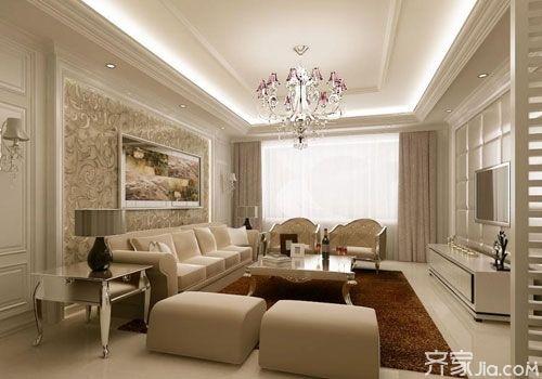 家庭客厅电视背景墙风格大鉴赏