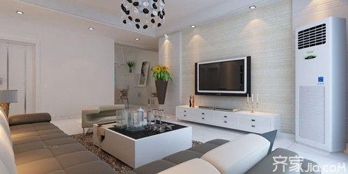 2015最新现代简约客厅电视背景墙装修效果图赏析