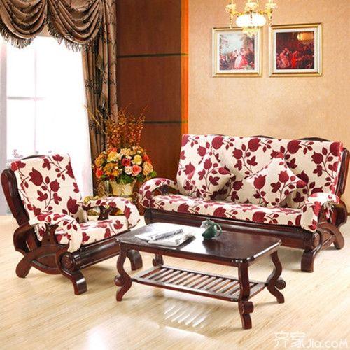 实木沙发坐垫 体验全新视觉与舒适享受