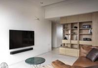 木与白的设计!旧房改造拉近三代生活距离