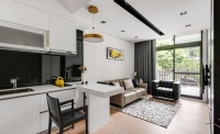40平方簡約風微型迷你小戶型,這樣設計兩房兩廳超寬敞!